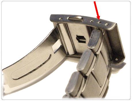 Металлический браслет для часов как отрегулировать