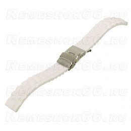 Ремешок для часов из каучука BC502-20 White