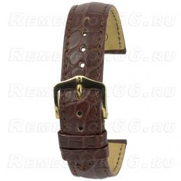 Ремешок HIRSCH Genuine Alligator 102207-19-2-22