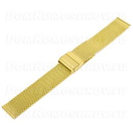 Браслет Inox Plus M-413-Gold/22