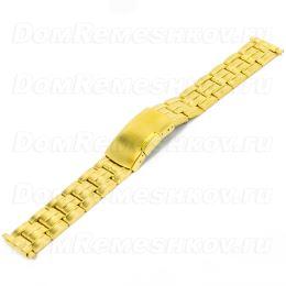 Универсальный браслет Inox Plus V-102-18G/16-22