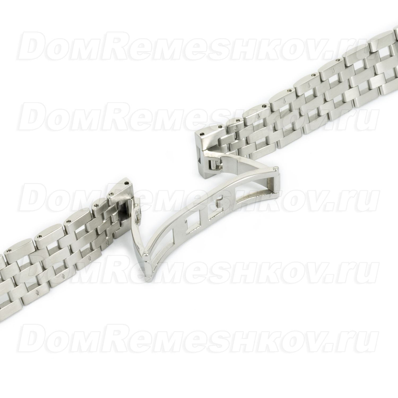 Форма конечного звена форма конечного звена параметр поясняющий возможность присоединения браслета к часам, в зависимости от формы конечного звена браслета.